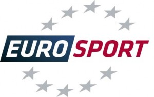Logo of Eurosport the leading sports entertainment group in Europe